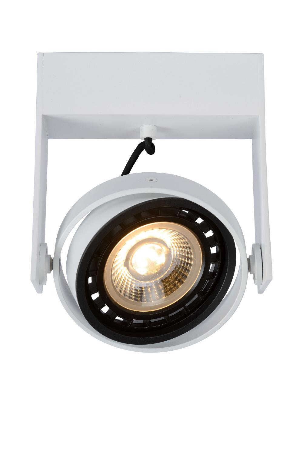 Lucide GRIFFON Plafondspot Dim-to-warm 1GU10 12W Wit