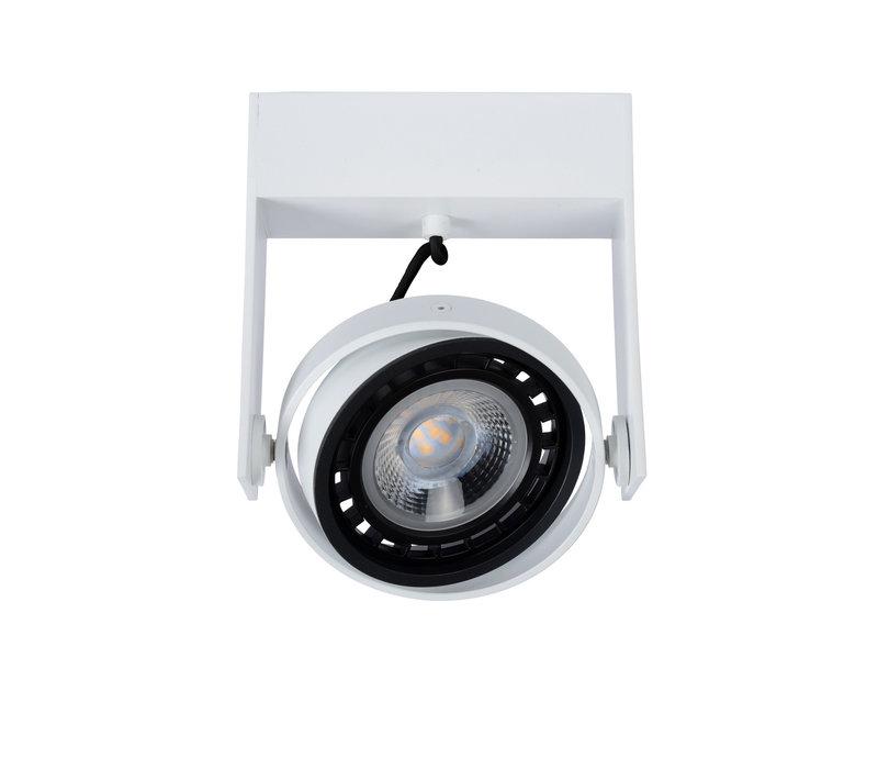 GRIFFON Plafondspot Dim-to-warm 1GU10 12W Wit