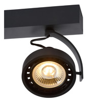 DORIAN Plafondspot Dim-to-Warm 3xGU10 12W Zwart