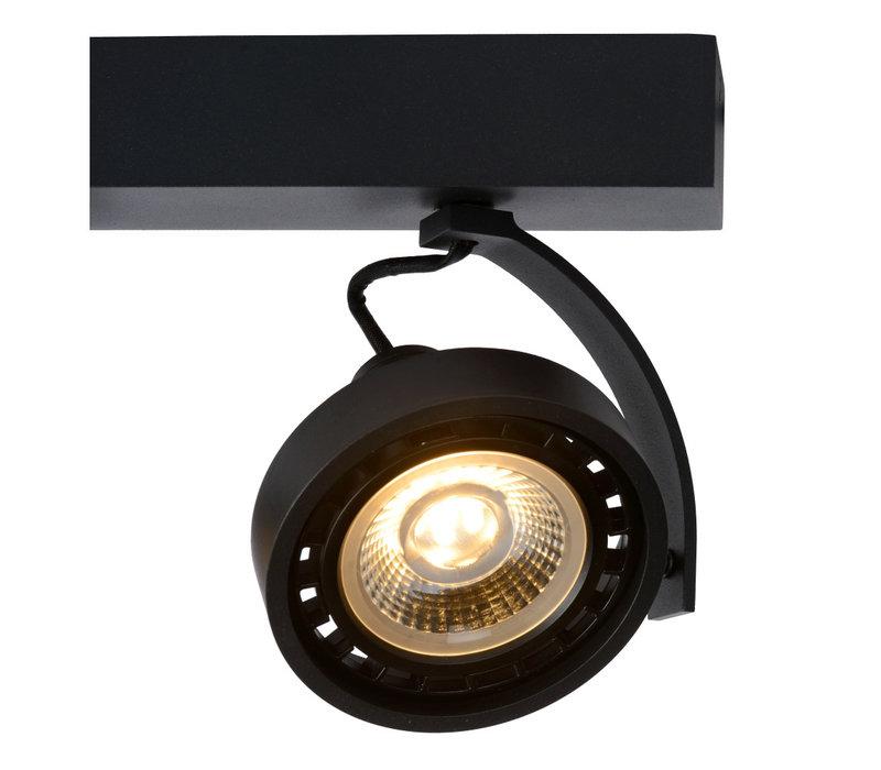 DORIAN Plafondspot Dim-to-Warm 2xGU10 12W Zwart