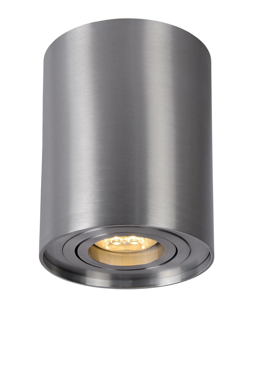 Lucide TUBE Spot Opbouw GU10 Rond D9.6 H12.5cm Alu