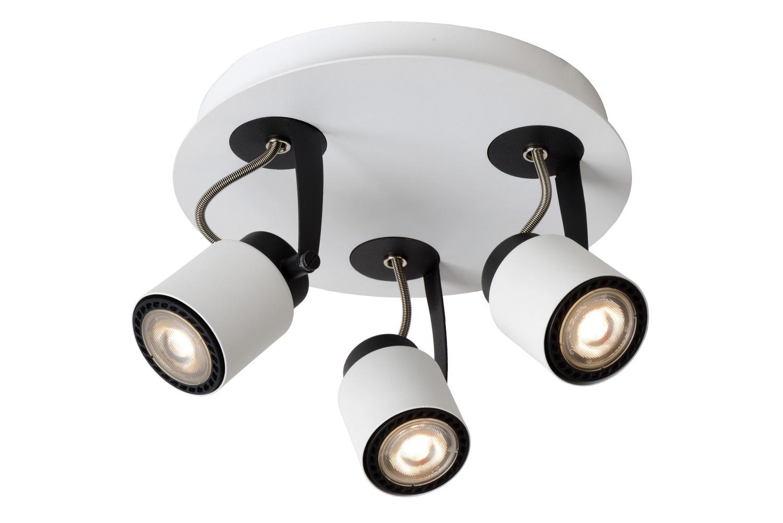 Lucide DICA LED Spot Plafondlicht 3xGU10/5W 320LM 3000K