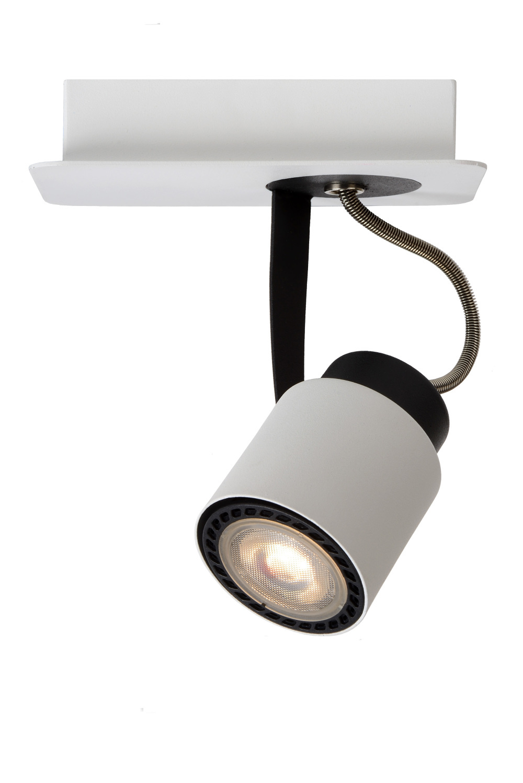 Lucide DICA LED Spot 1xGU10/5W 320LM 3000K Wit