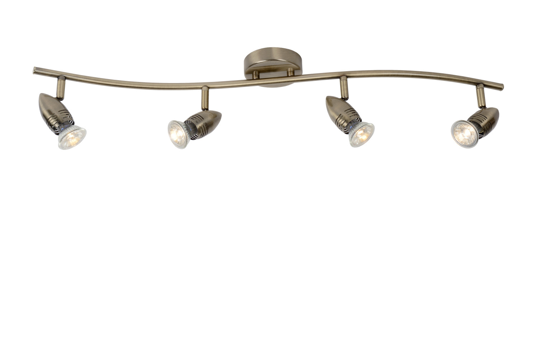 Lucide CARO-LED Spot Boog 4xGU10/5W Brons