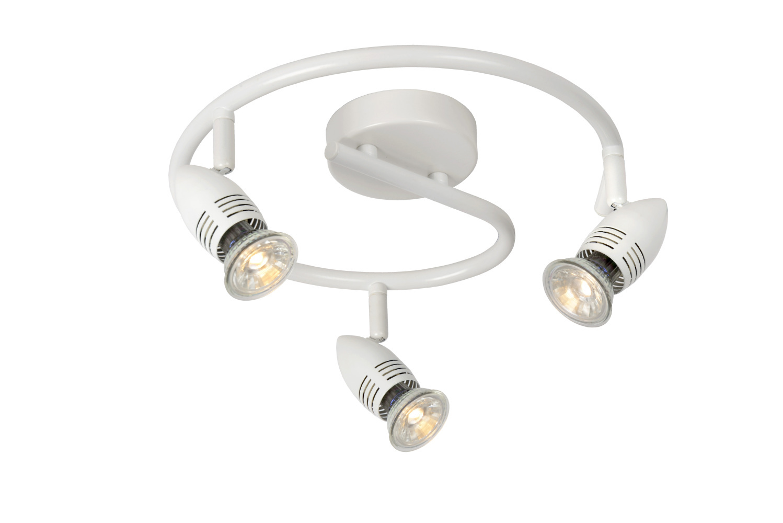 Lucide CARO-LED Spot Boog 3xGU10/5W Wit