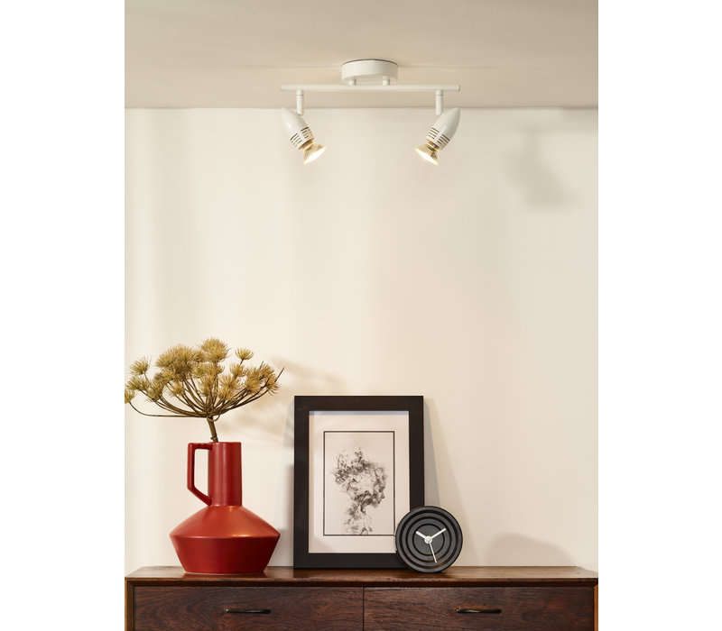 CARO-LED Wandspot   2x GU10/5W L32 H12.5 cm W10cm