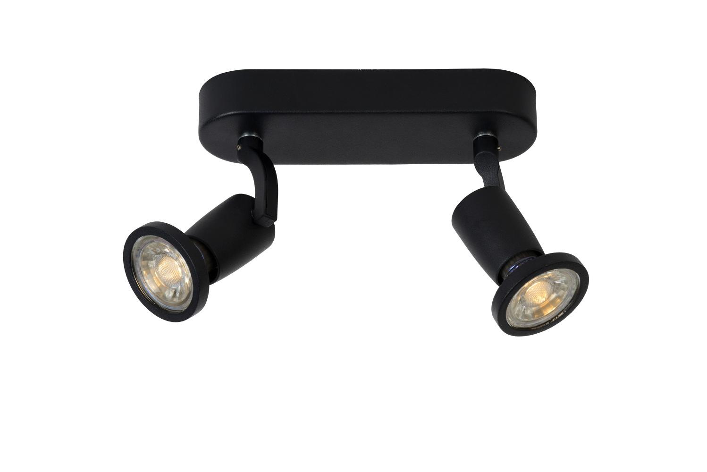 Lucide JASTER LED Spot 2xGU10/5W incl. 350LM Zwart