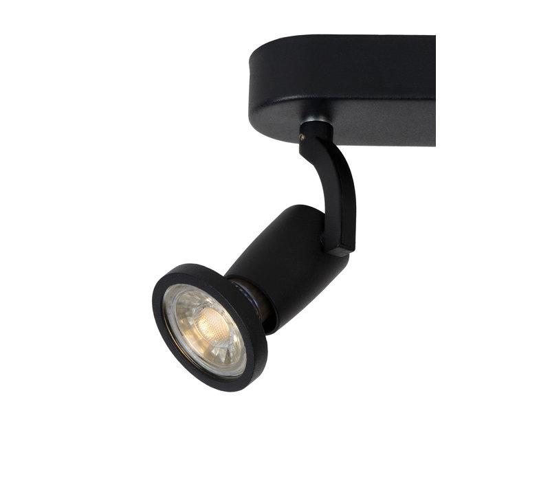 JASTER LED Spot 2xGU10/5W incl. 350LM Zwart
