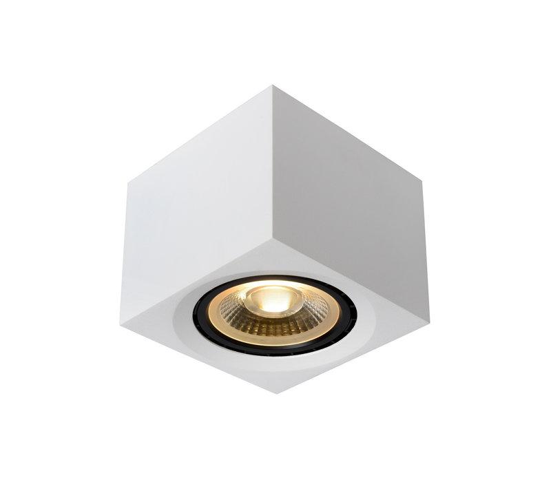 FEDLER Plafondspot Dim-to-warm GU10 Vierkant Wit