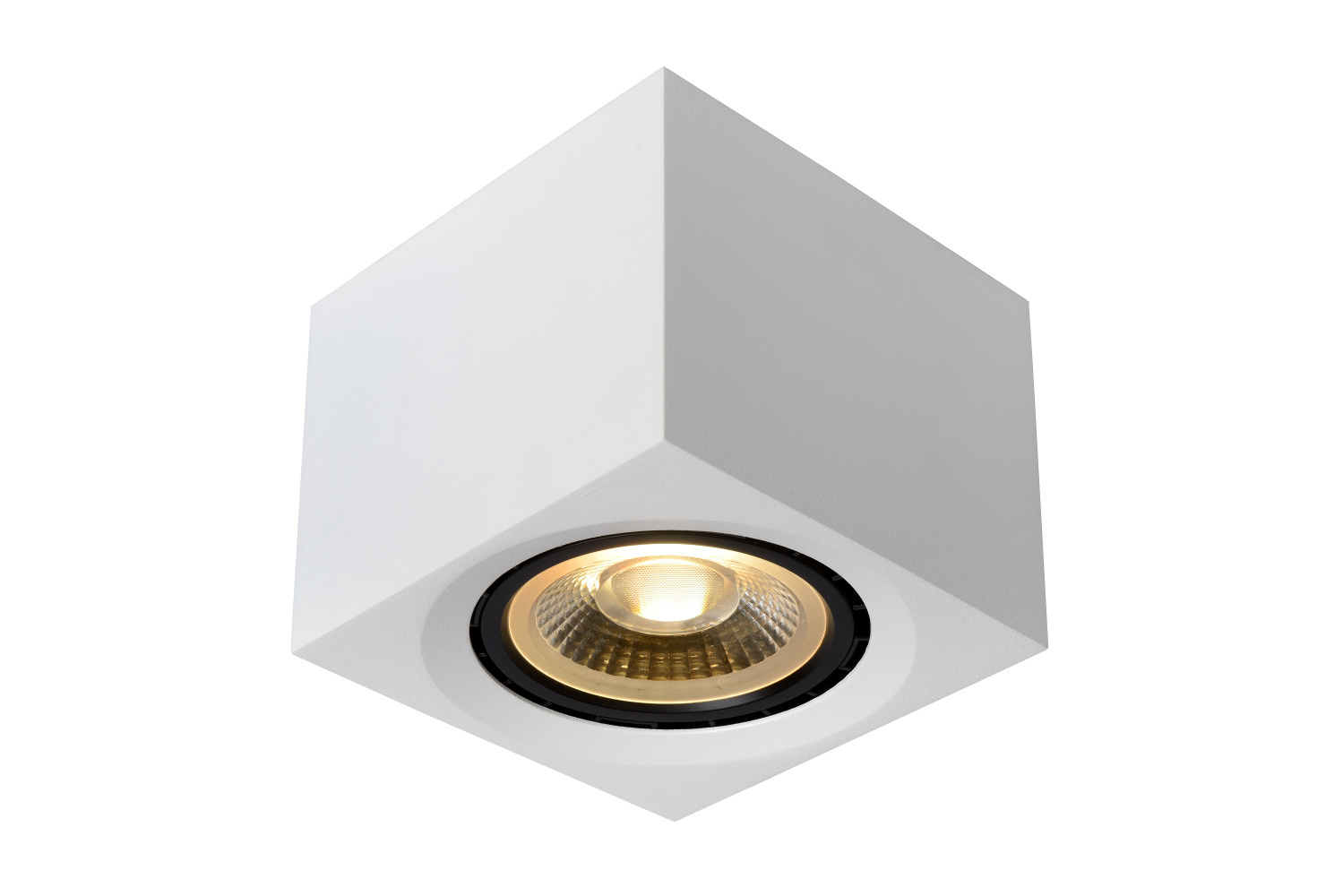 Lucide FEDLER Plafondspot-Wit-LED DTW-1xGU10-12W