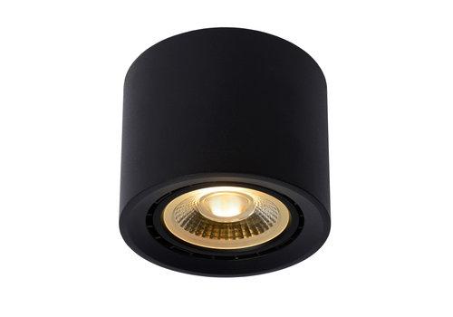 Lucide FEDLER Plafondspot-Zwart-Ø12-LED DTW-1xGU10-12W