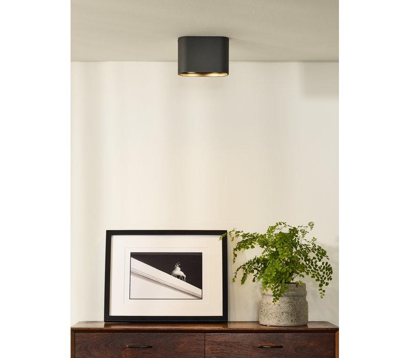 BENTOO-LED Spot GU10/5Wincl L16.6 W6 H11cm Grijs
