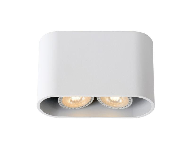 BENTOO-LED Spot GU10/5Wincl L16W6 H11,5cm Wit