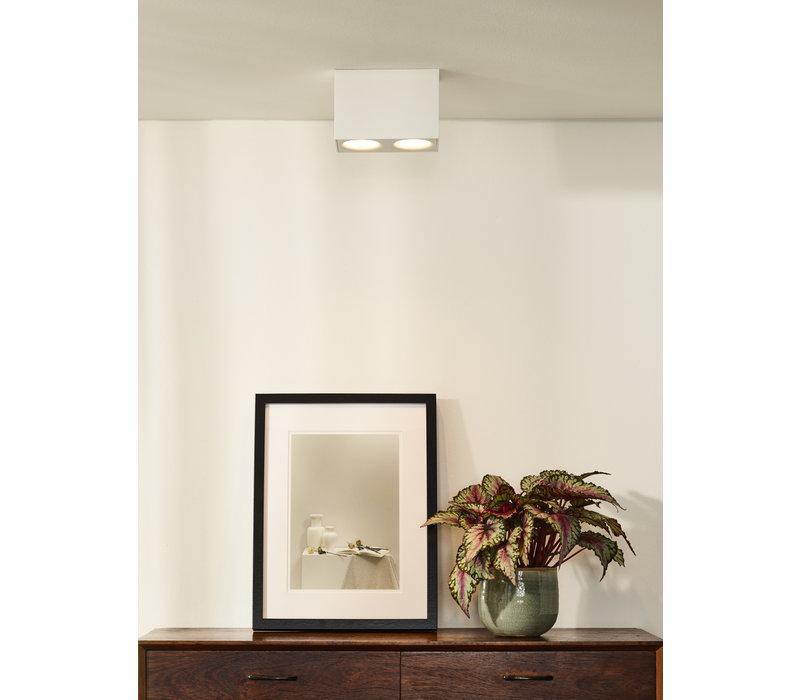 BENTOO-LED Spot GU10/5Wincl L16,5 W8.3 H11cm Wit
