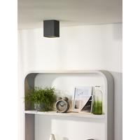 BENTOO-LED Spot GU10/5Wincl L8 W8 H11cm Grijs