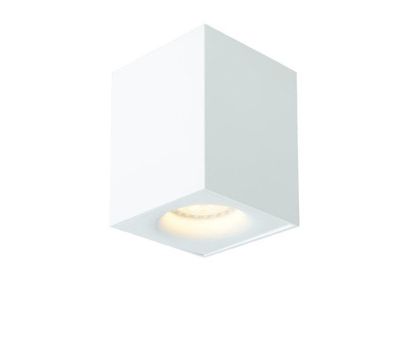 BENTOO-LED Spot GU10/5Wincl L8 W8 H11cm Wit
