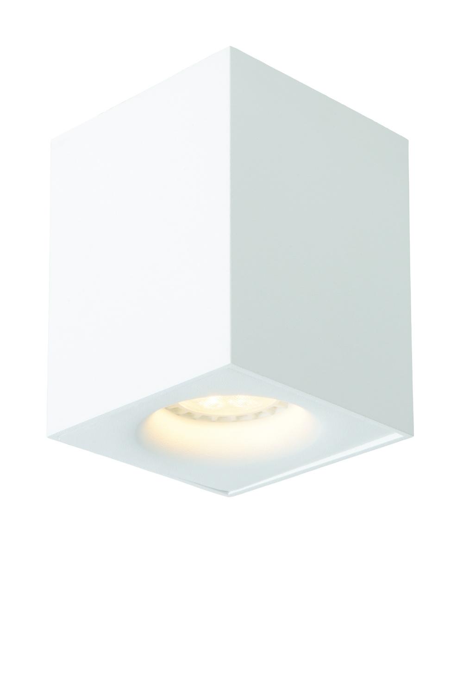 Lucide BENTOO-LED Spot GU10/5Wincl L8 W8 H11cm Wit