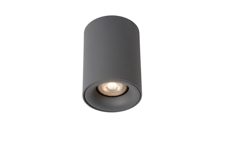Lucide BENTOO-LED Spot GU10/5Wincl Ø8 H11cm Grijs