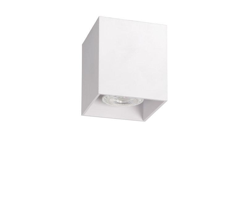 BODI Plafondlicht Vierkant GU10 excl. D8 H9.5cm Wi