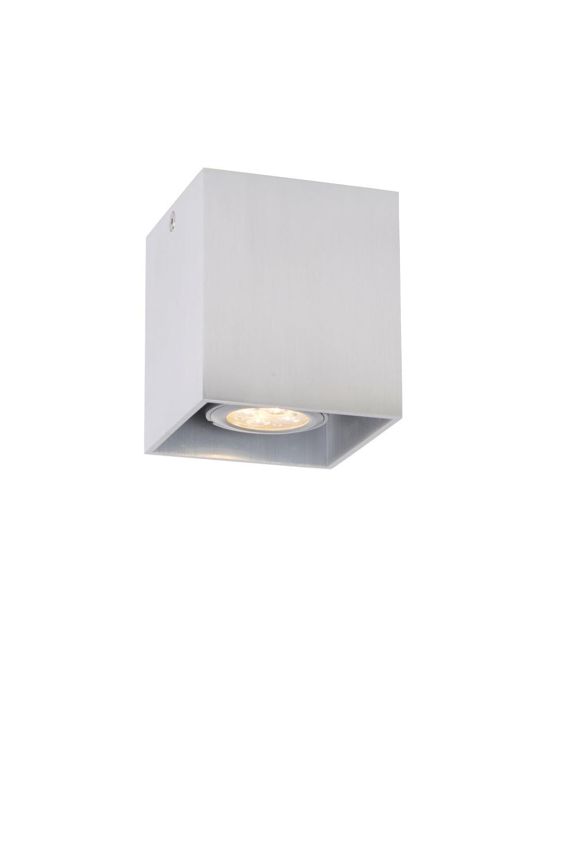 Lucide BODI Plafondlicht Vierkant GU10 excl. D8 H9.5cm Al