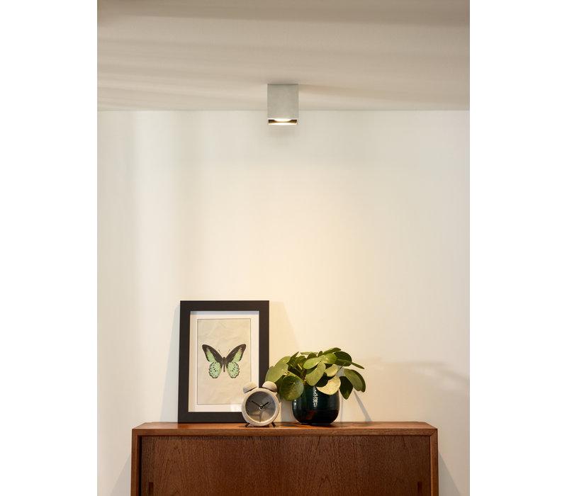 BODI Plafondlicht Vierkant GU10 excl. D8 H9.5cm Al