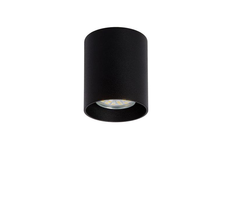 BODI Plafondlicht Rond GU10 excl. D8 H9.5cm Zwart