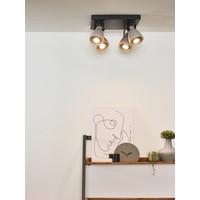 CONCRI-LED Spot 4xGU10/5Wincl 320LM 3000K Zwart