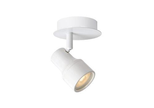 Lucide SIRENE-LED spot 1xGU10/5W incl .Ø10 H11.5cm Wit