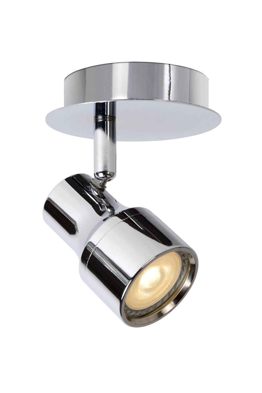 Lucide SIRENE-LED Spot 1xGU10/5W incl. .Ø10 H11.5cm Chr