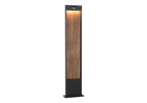 Lucide JELLUM Lantaarn LED  H100cm Antraciet