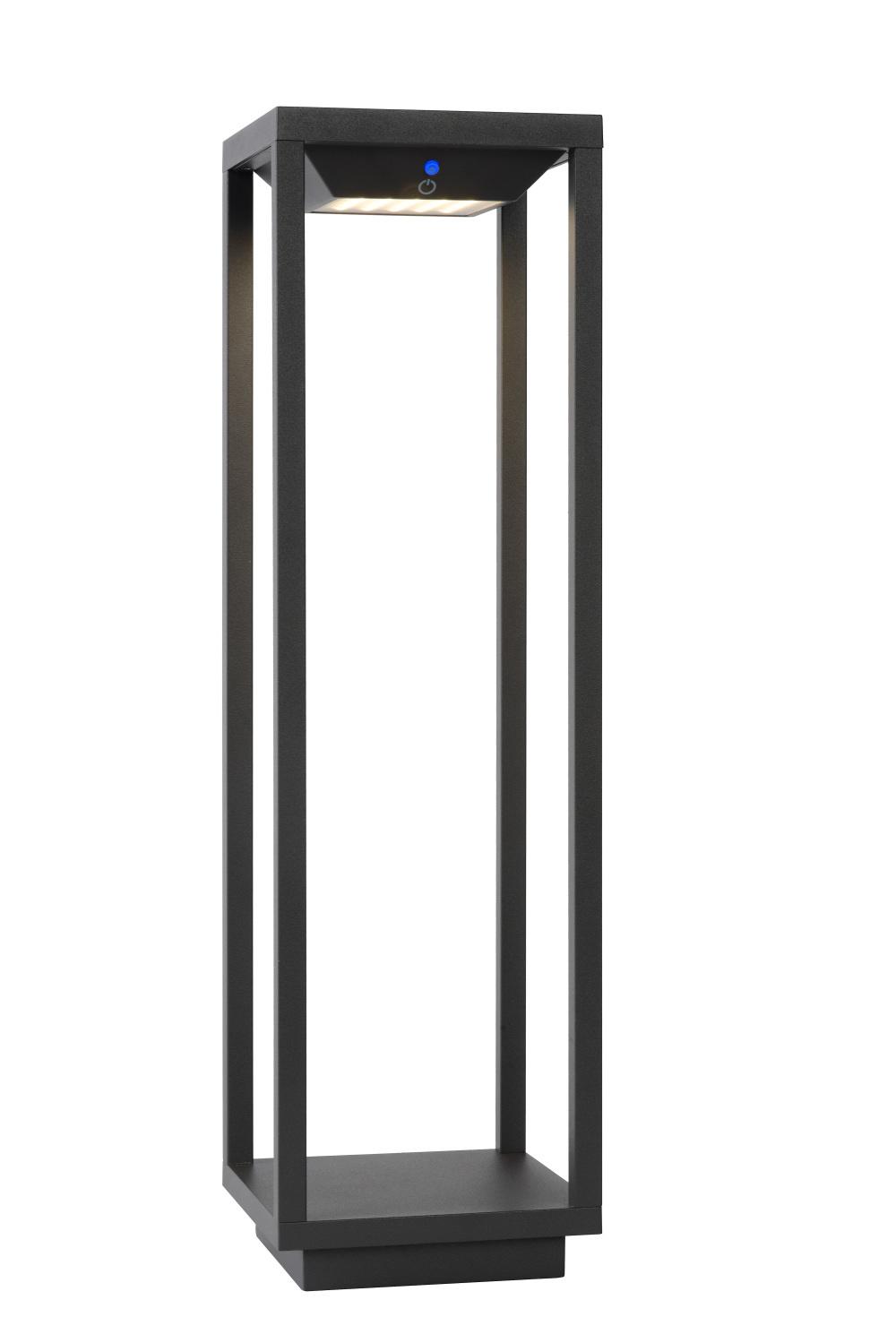 Lucide TENSO SO. Sokkellamp Buiten-Antrac.-LED-2,2W-3000K