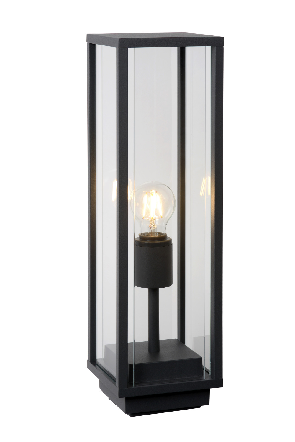 Lucide CLAIRE-LED Sokkel IP54 1xE27W Max15W L14 W14 H50cm