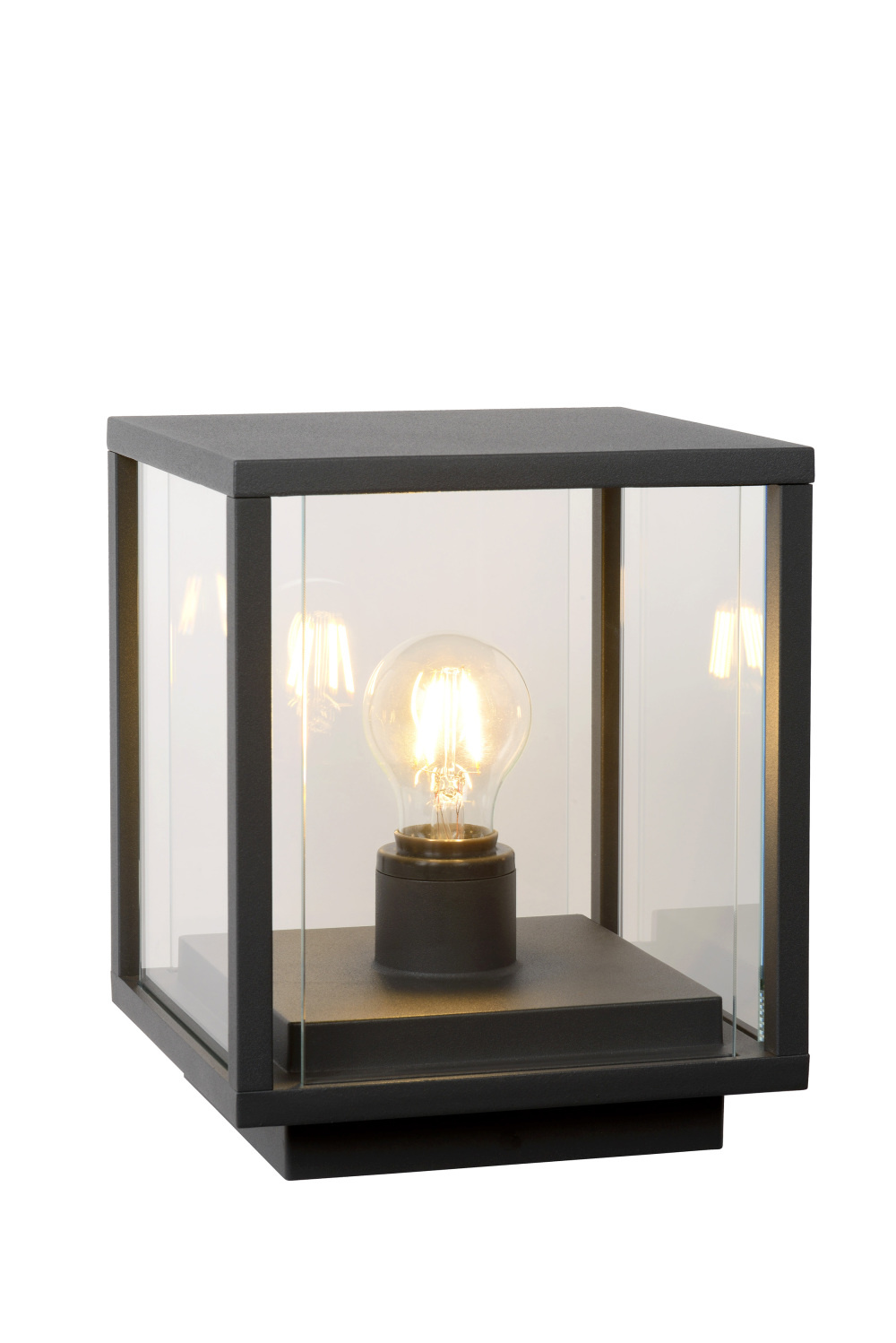 Lucide CLAIRE-LED Sokkel IP54 1xE27W Max15W L20 W20 H25cm