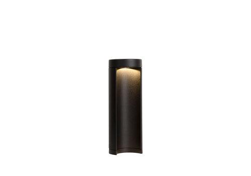 Lucide COMBO Paaltje LED 7W IP54 3000K  H25 D9cm Zwart