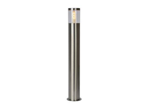 Lucide FEDOR Sokkellamp E27/40W H79.5cm Mat Chroom