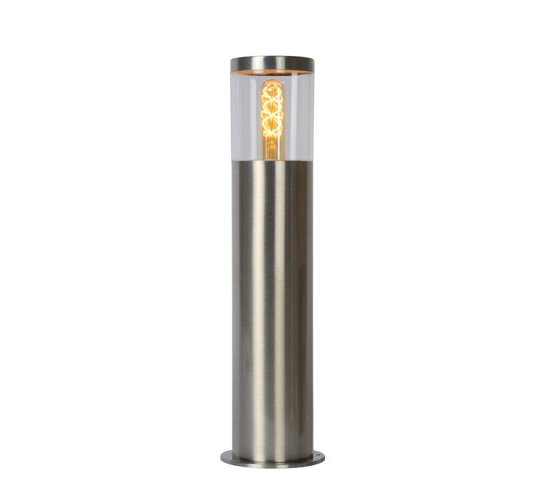 FEDOR Sokkellamp E27/40W H49.5cm Mat Chroom