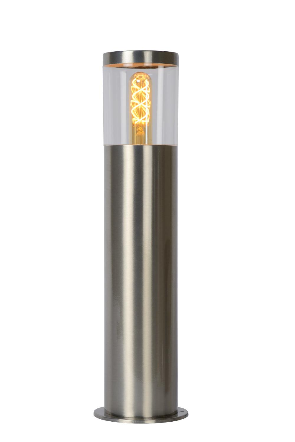 Lucide FEDOR Sokkellamp E27/40W H49.5cm Mat Chroom