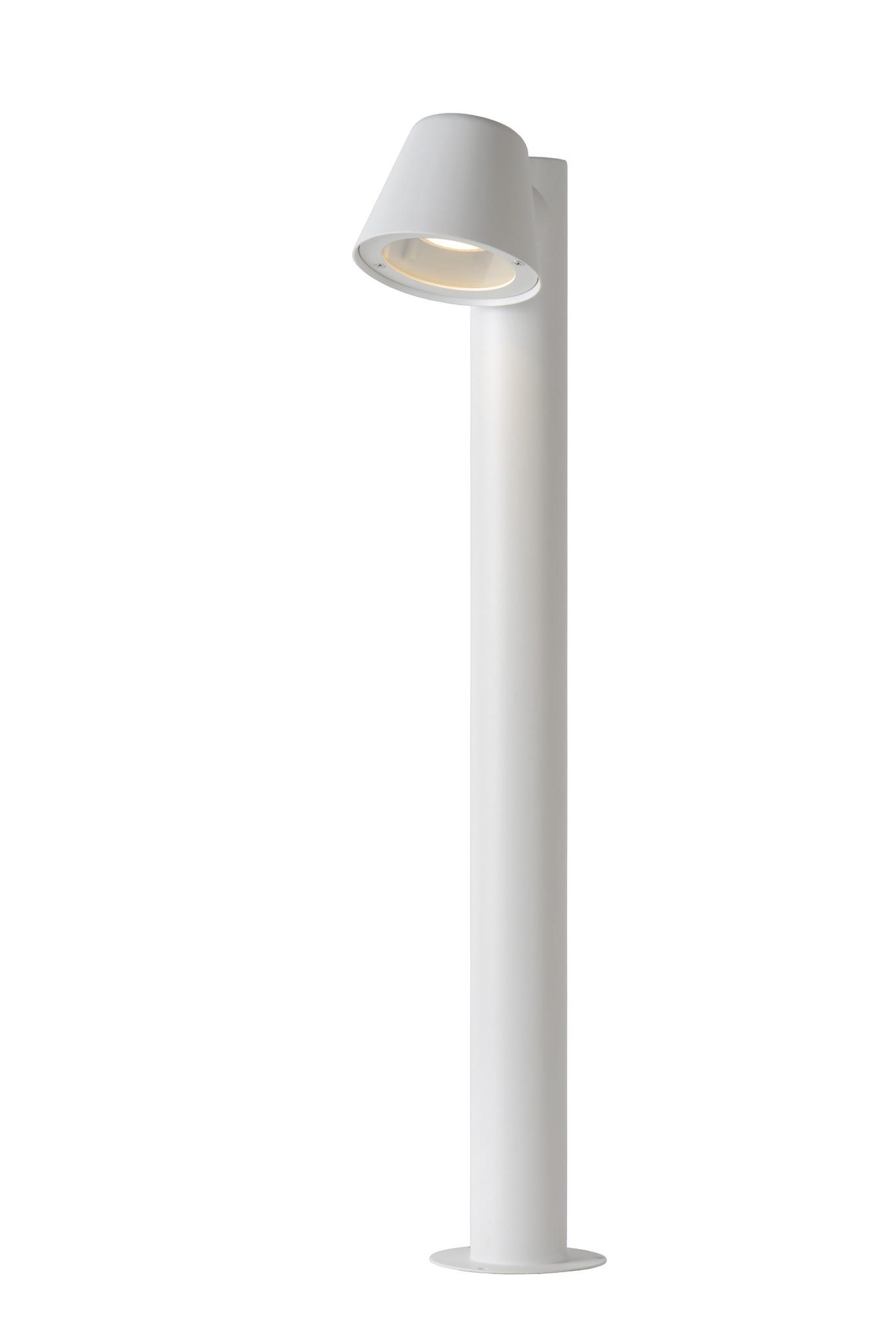 Lucide DINGO LED Paaltje IP44 H70cm GU10/4.5W incl Wit