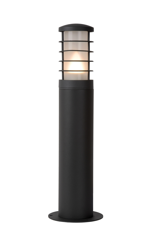 Lucide SOLID Sokkellamp Buiten-Antrac.-Ø9-1xE27-60W-IP54