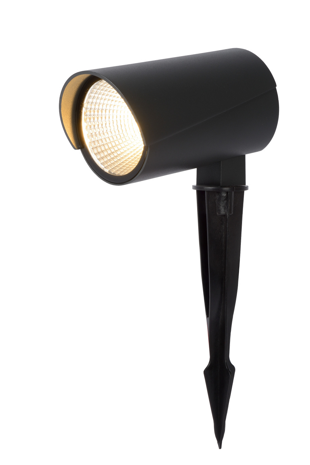 Lucide MANAL Tuinspot/Grondspie LED 12W Antraciet