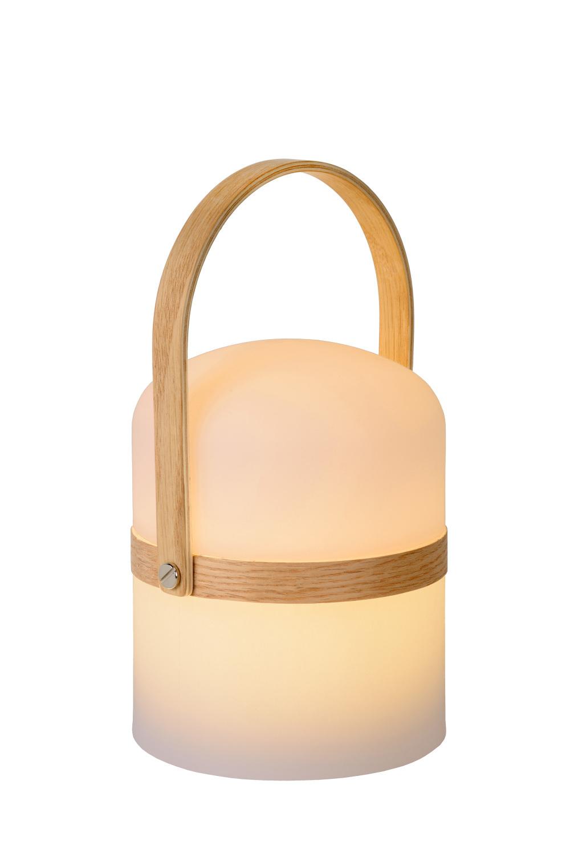 Lucide JOE Tafellamp Buiten-Wit-Ø14,5-LED Dimb.-3W-2800K