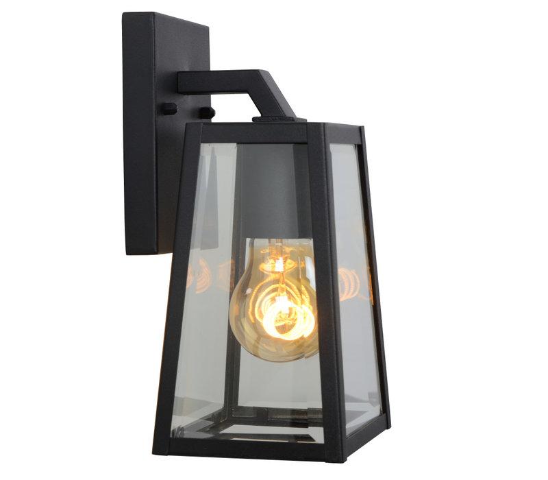 MATSLOT Wandlicht IP23 E27 H25cm Zwart