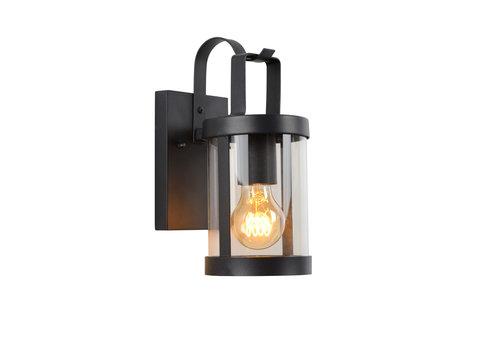 Lucide LINDELO Wandlicht IP23 E27 H28cm Zwart