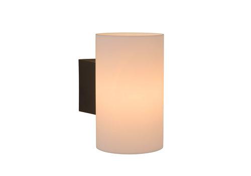 Lucide MART Wandlicht E27 IP54 H20cm Opaal Wit
