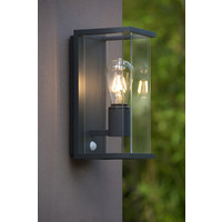 CLAIRE-LED Wandlicht + IR IP54 1xE27 Max60W Antrac