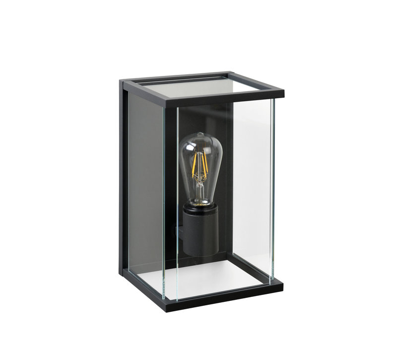 CLAIRE-LED Wandlicht  IP54 1xE27 Max60W Anthraciet