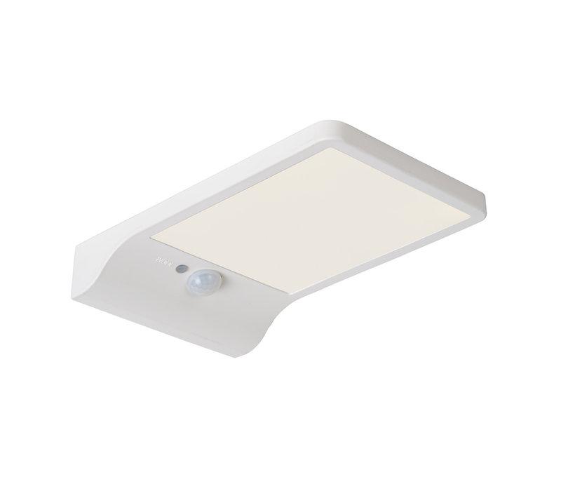 BASIC Wandlicht Solar+ Sensor IP44 11/19/3cm wit