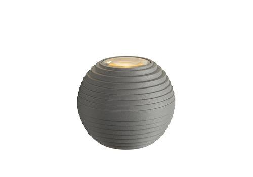 Lucide AYO Wandlamp Buiten-Grijs-Ø9-LED-3W-2700K-IP54