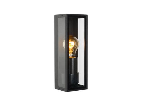 Lucide DUKAN Wandlamp buiten E27/15W Zwart