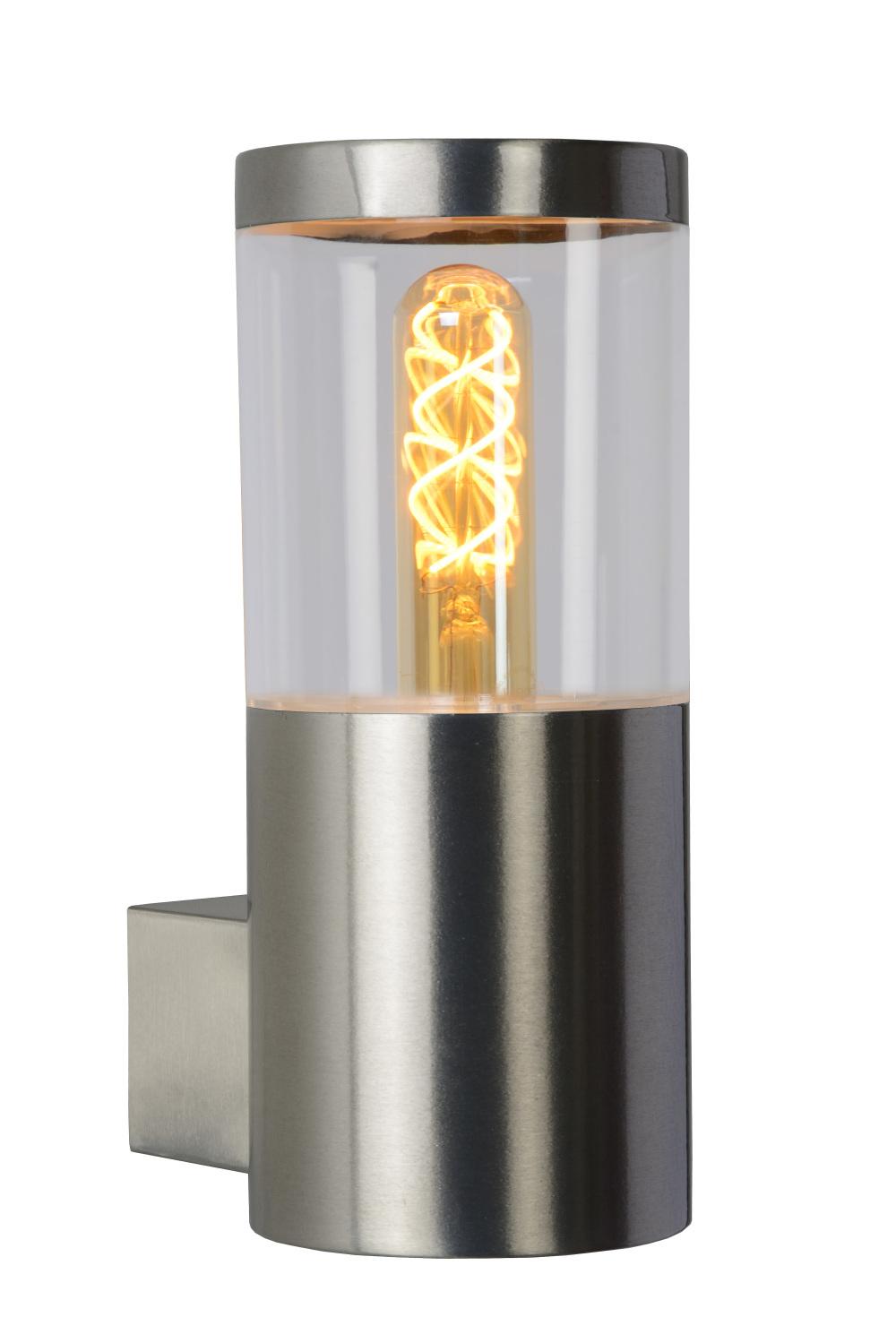 Lucide FEDOR Wandlicht E27/40W H23cm Mat Chroom
